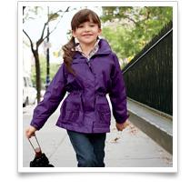 Girls' Fleece-lined StormRaker Jacket