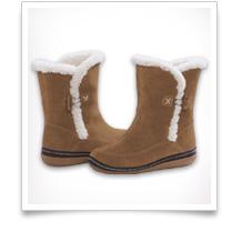 Girls' Shearling Boots