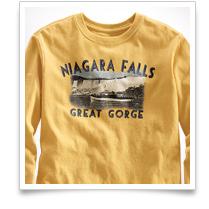 Boys' Long-sleeve Niagara Falls Tee
