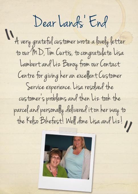 grateful customer