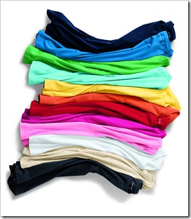 Short Sleeve Cotton/Modal Crew Neck