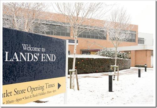 Lands' End Under Snow