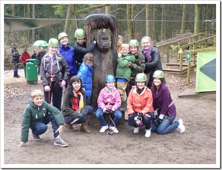 Lands' End at 'Go Ape'