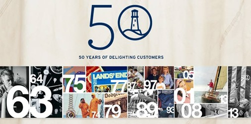 Lands' End is 50!