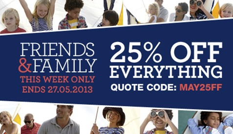 Lands' End Friends & Family Event