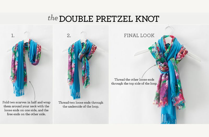 The double pretzel knot