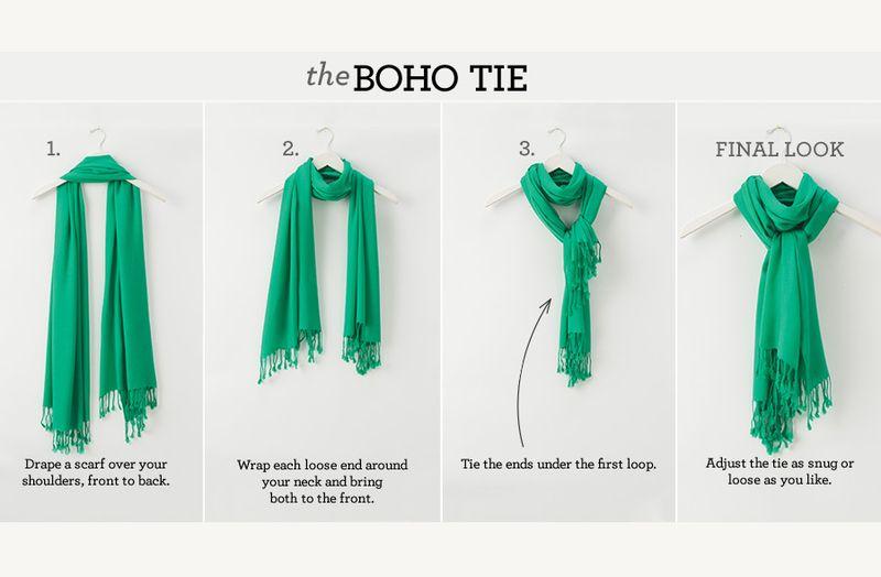 The boho tie