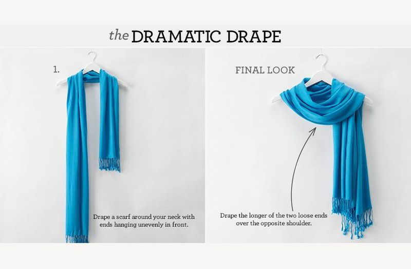 The dramatic drape