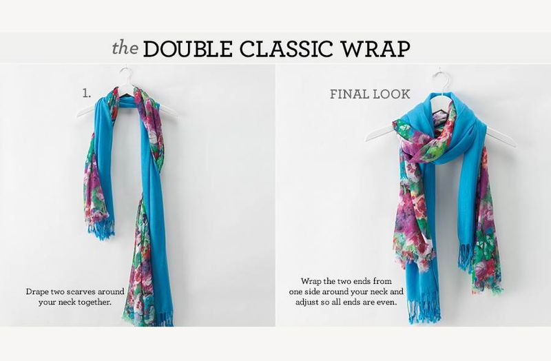 The double classic wrap